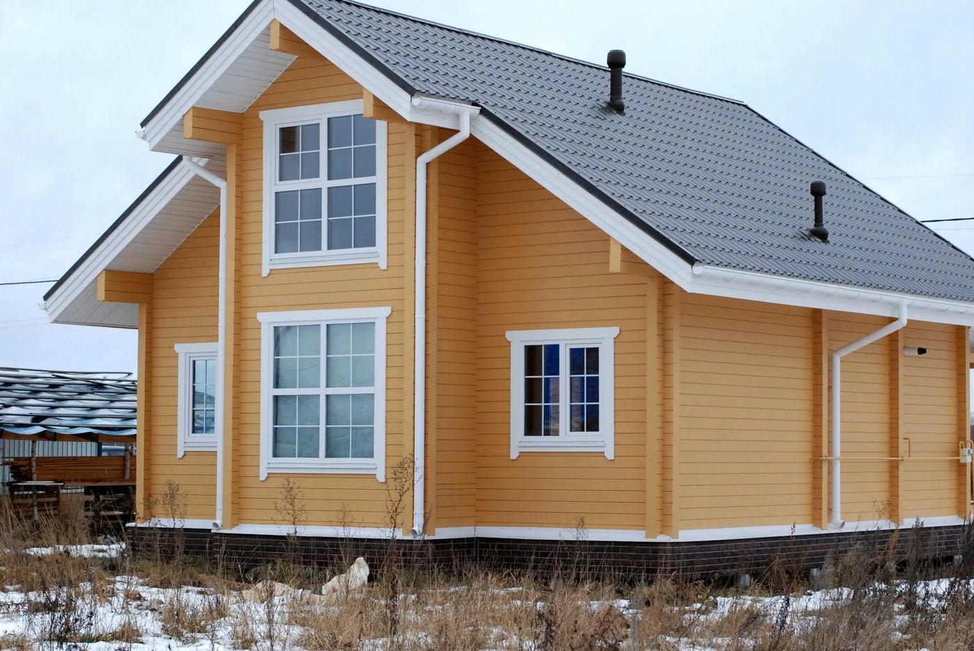 Строительство деревянного дома в Нижнем Новгороде